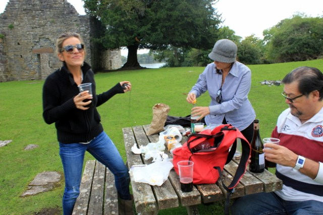 Picnic on Innisfallen Island, Ireland