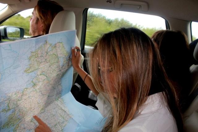 Road trip through Ireland