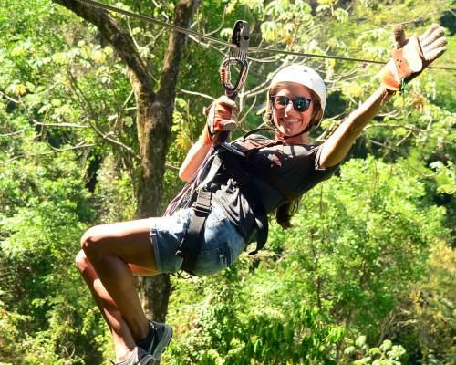 Ziplining in Costa Rica