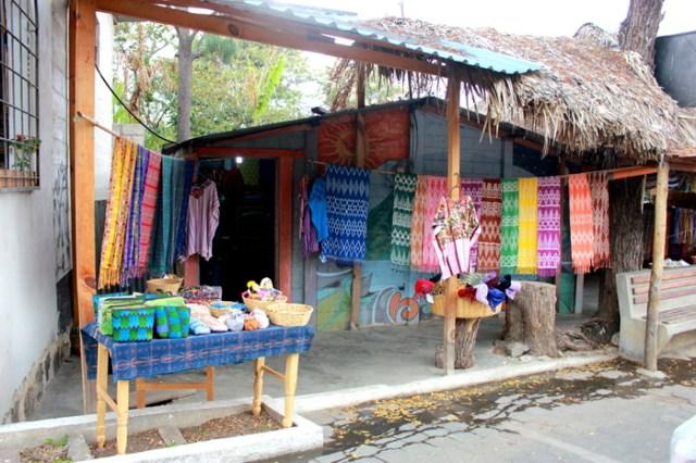 Weaving in San Juan La Laguna, Lake Atitlan