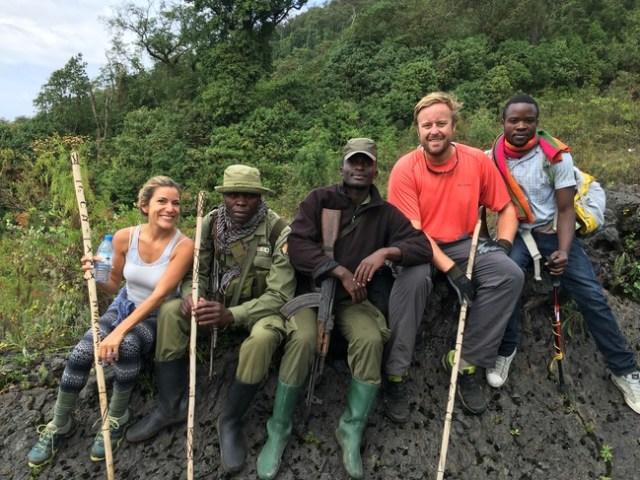Nyiragongo Hike, Virunga National Park, DRC