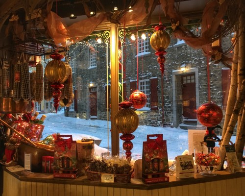 Quartier Petit Champlain, Christmas in Quebec City