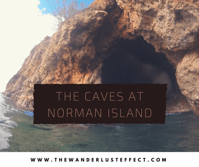 Caves at Norman Island, Experiences in the BVI