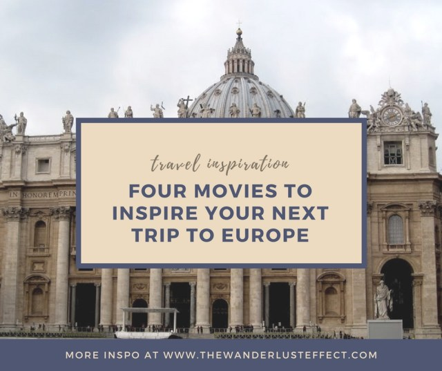 Movies for European Travel Inspiration