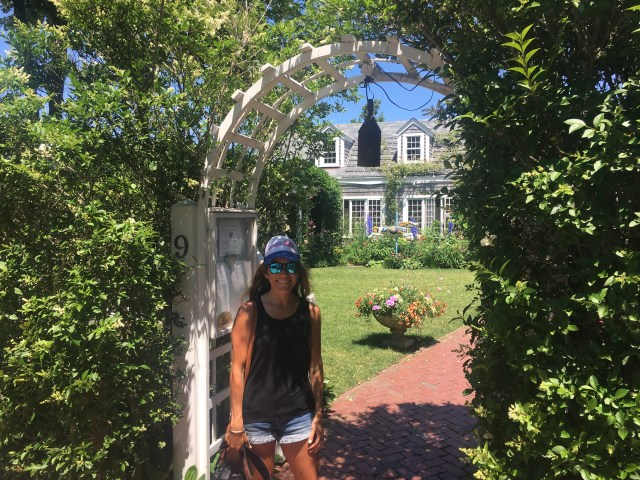 The Chanticleer, 3 days in Nantucket