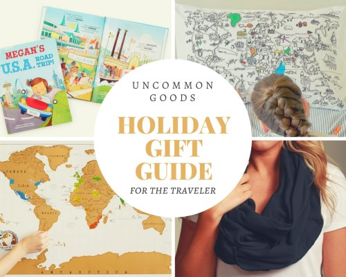 Uncommon Goods Holiday Gift Guide - The Wanderlust Effect