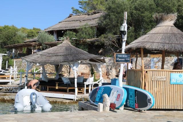 Langanini Lounge Bar, Island Hopping from Hvar
