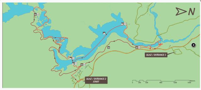 Plitvice Lakes Route H