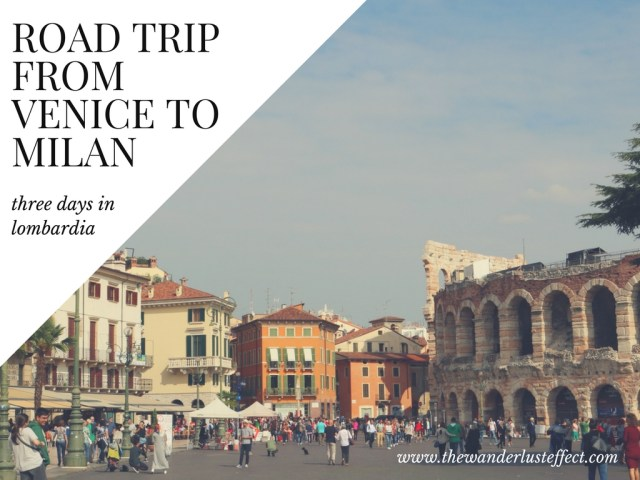 Sightseeing from Venice to Milan