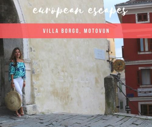 HOTEL INSIDER: A Stay at Villa Borgo, Motovun, Istria
