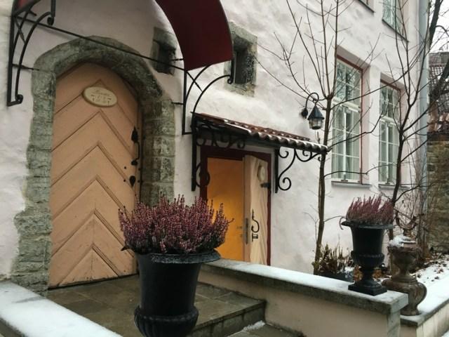 Tallinn Hotel Round-Up: Hotel Schlössle
