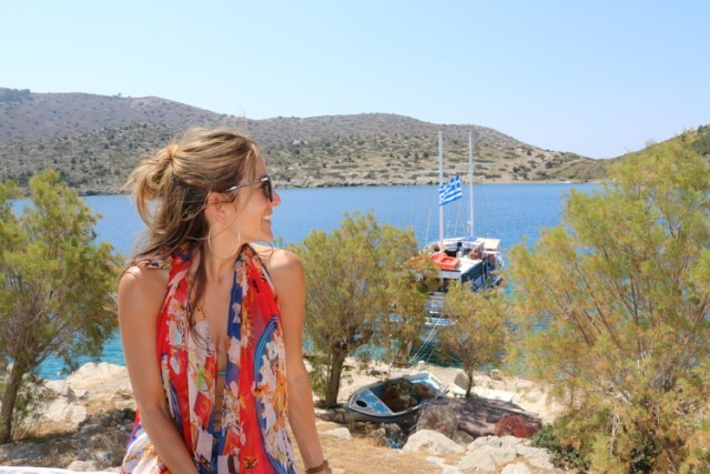 Exploring Symi by Boat