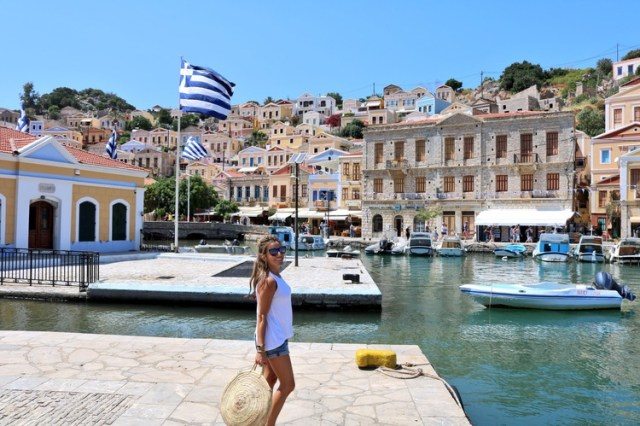 Two Days in Symi, Greece
