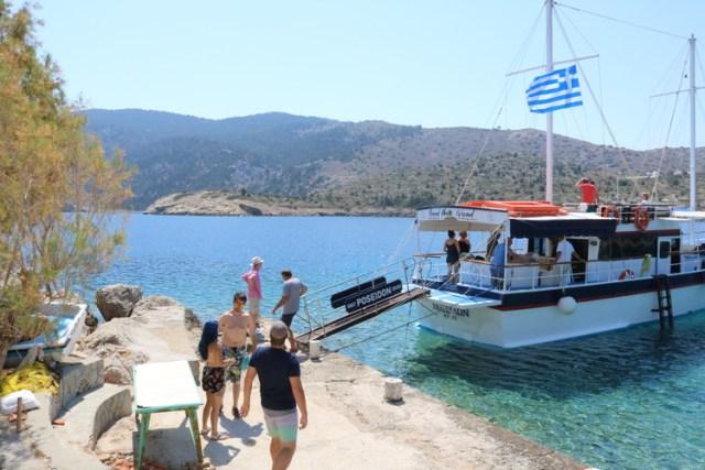 Exploring Symi by Boat