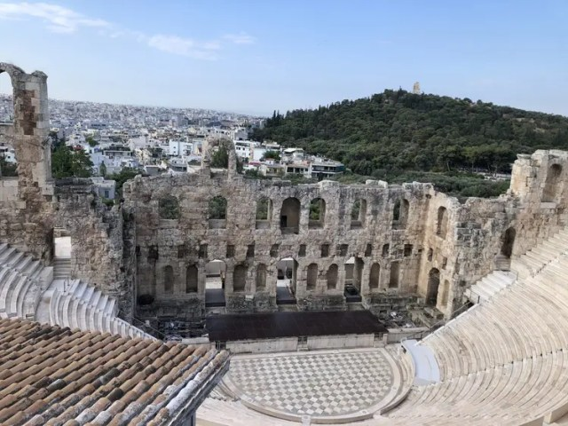 Visiting the Acropolis with PK Tours