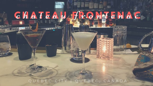 HOTEL INSIDER: A Stay at Chateau Frontenac, Quebec City