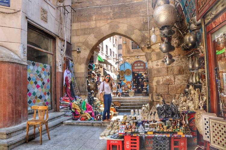 Khan el-Khalili Market, Visiting Egypt
