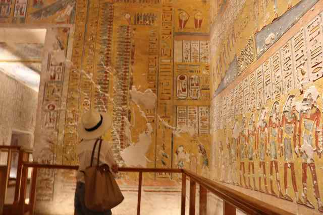Ramesses IV, Valley of the Kings