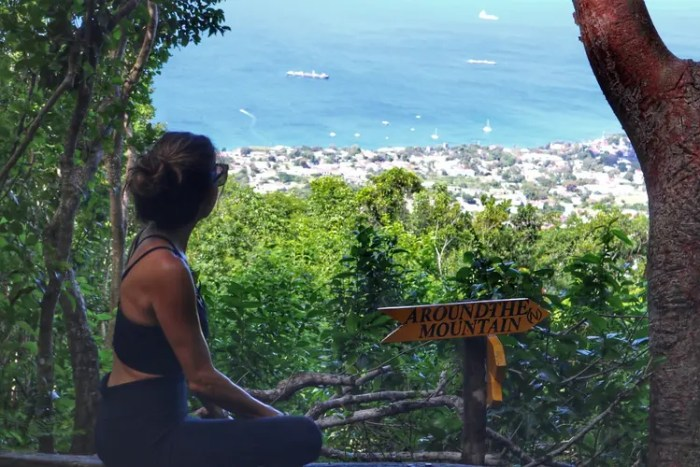 Hike to The Quill, Two Days in Statia
