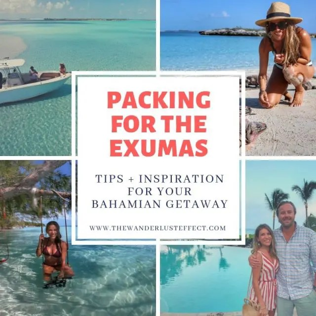 Packing for the Exumas