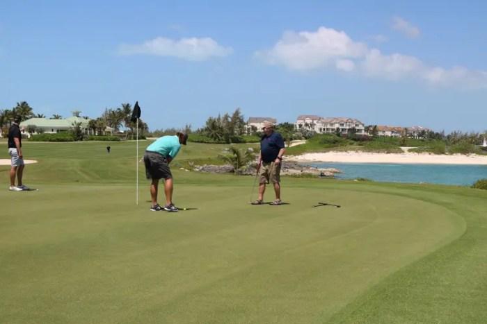 Golf in the Exumas; One Week in the Exumas