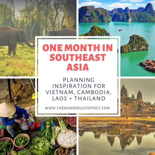 One Month in Southeast Asia