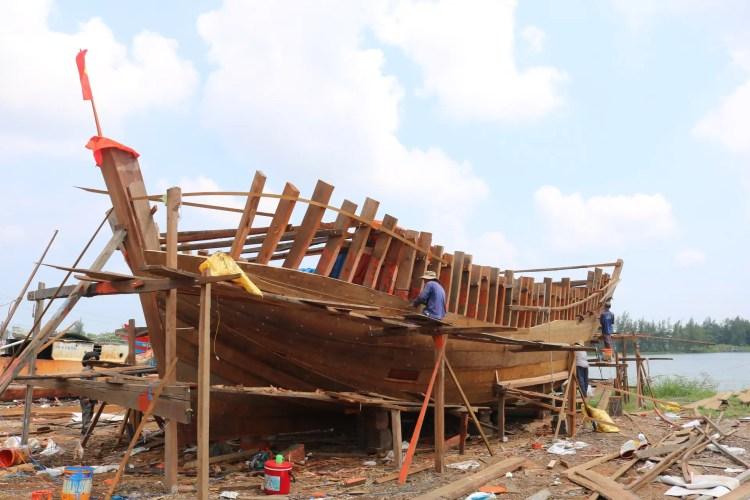 Boat Building in Vietnam