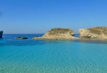 Comino is one of the islands in the Maltese Archipelago
