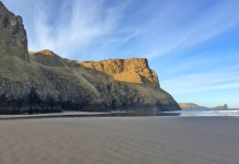 Rhossili Beach is for many the jewel of Gower, a peninsula in South Wales