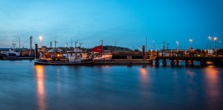 The city now has one of Denmark's largest fishing ports with more than 200 resident fishing vessels,