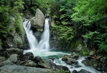 Bash Bish Falls has been a popular spot and a favorite subject of painters and photographers since the mid-19th century.