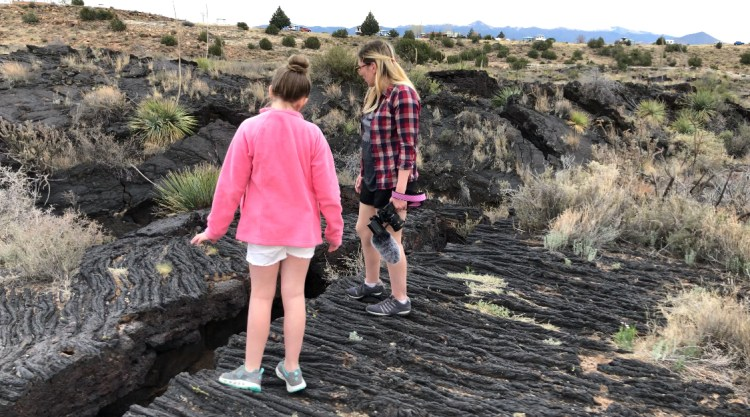 5000 year old Malpais Lava Flow