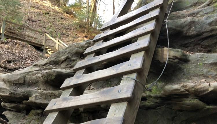 Turkey Run State Park Ladders