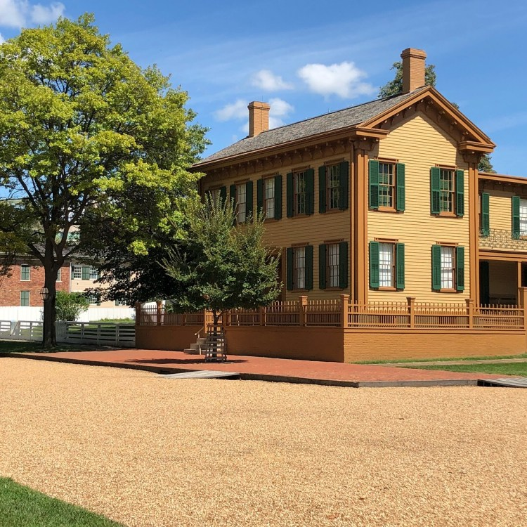 Lincoln Historic Home Springfield
