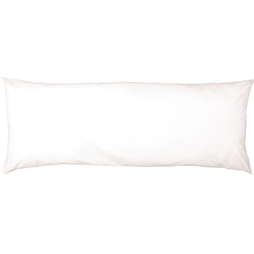living co body pillow white 50cm