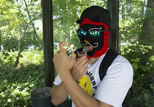 smoking on campus 3 - c