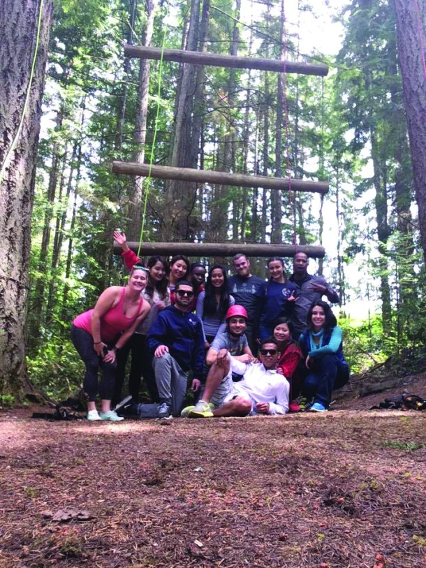 Camp Casey vertical challenge
