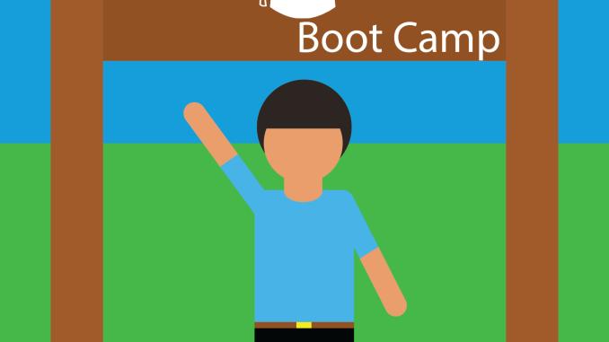 career bootcamp illustration