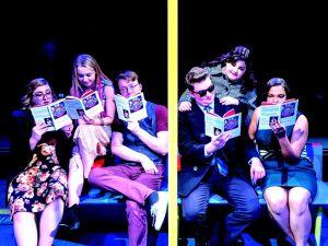 Actors reading Coupler. Photo Courtesy of Michael Brunk