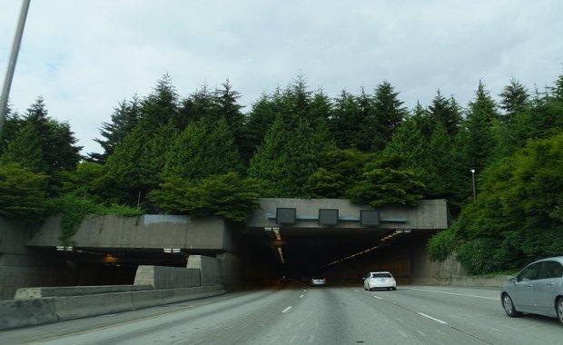 I-90 under mercer island