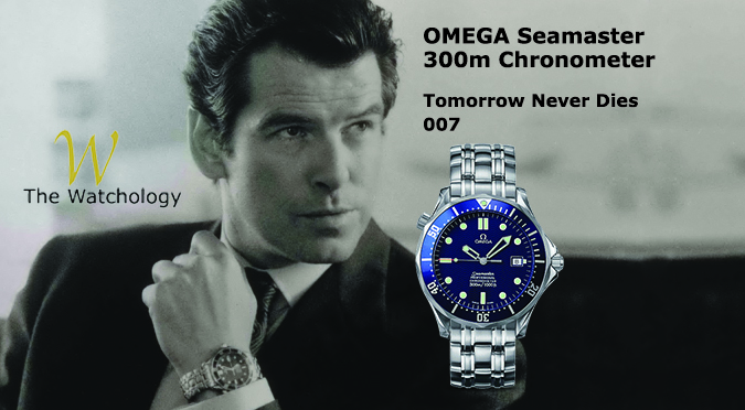Omega Seamaster 300M Chronometer James Bond Watch