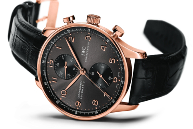 IWC Portuguese Chronograph Rose Gold IW371482