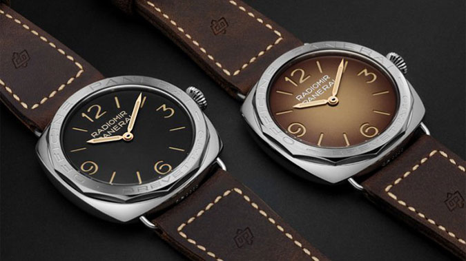SIHH 2017: Panerai Radiomir 3 Days Acciaio PAM685 and PAM687 with new shapes and colours