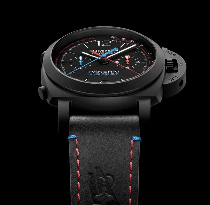 Luminor 1950 Oracle Team USA 3 Days Chrono Flyback Automatic Ceramica (PAM 725)