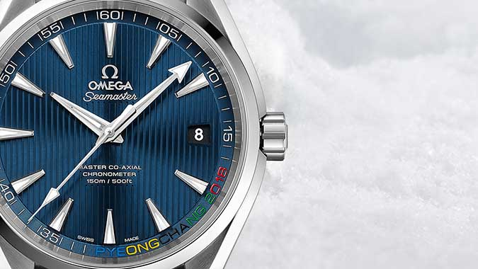 Olympic Collection PyeongChang 2018 Seamaster Aqua Terra