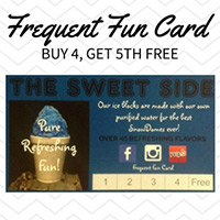 With a Frequent Fun Card, you buy 4 and get the 5th one free!