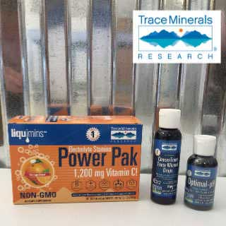 Trace Minerals Products sold at The Water Fountain NRH