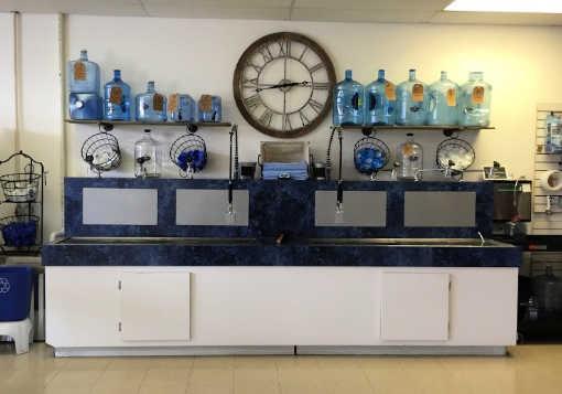Water Vending Center inside store
