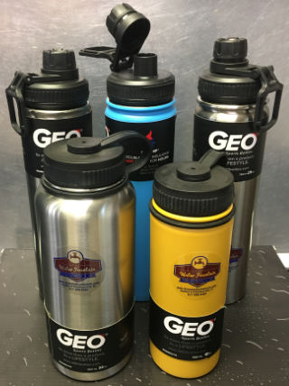 Stainless steel sport water bottles