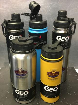 Stainless steel sport water bottles